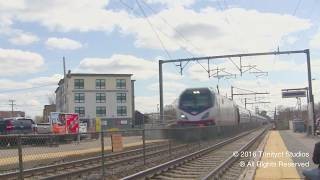 Download FAST AMTRAK TRAINS ON THE NEC !!! Video