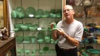 Download Fire king jadeite retro vintage green dishes Video