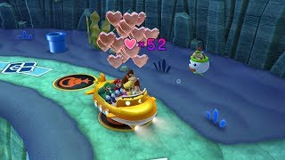 Download Mario Party 10 Bowser Party #257 Donkey Kong, Mario, Luigi, Wario Whimsical Waters Master Difficulty Video