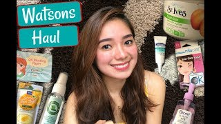 Download WATSONS HAUL 2017! (Skincare) | Philippines Video