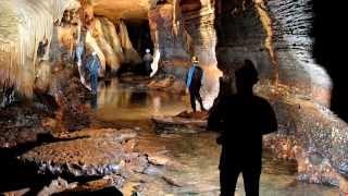 Download Exploring Iowa's Coldwater Cave, Winneshiek County, Iowa Video