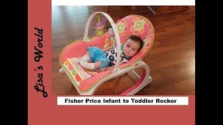 Download Fisher Price Infant to Toddler Rocker Review with Layla Rose and Lisa's World Video