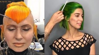 Download NEW Hair Color Transformation - 15 Amazing Beautiful Hairstyles Tutorial Compilation! Video