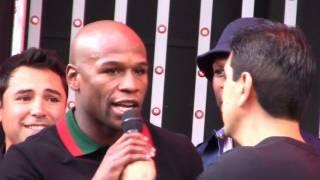 Download Floyd Mayweather disses Oscar de la Hoya Video