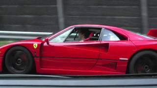 Download Ferrari F40 Acceleration Tunnel + Rev (HD) Video
