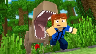 "Download Minecraft Jurassic World - Jurassic Park - RUN!!! #9 - ""Jurassic Craft Roleplay″ Video"