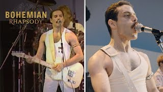 Download Bohemian Rhapsody | Live Aid Side by Side: ″Crazy Little Thing Called Love″ | 20th Century FOX Video