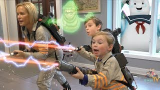 Download Ghostbusters Kids Parody Skit with Playmobil Toys Video
