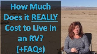 Download RV Living: How Much It REALLY Costs to Live in an RV (and FAQs answered) Video