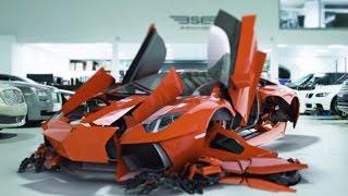 Download Transform your self-drive hire experience with Signature's Lamborghini Aventador LP700-4 Video