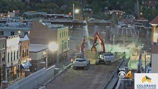 Download Bridge Being Demolished Collapses Video