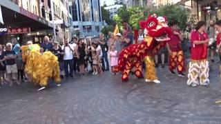 Download (múa sư tử) Sydney Chinese Lunar New Year Festival 2017 - Lion Dance Performance at Chinatown. Video