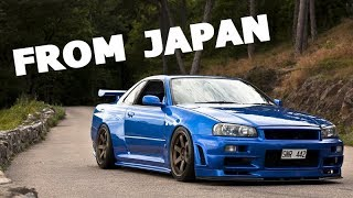 Download I tried importing an R34 Skyline... Video