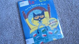 Download Pete The Cat and the Bedtime Blues Children's Read Aloud Story Book For Kids By James Dean Video