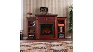 Download Tennyson Electric Fireplace w/Bookcases Video