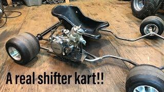 Download Building a YZ85 shifter kart part 1 Video