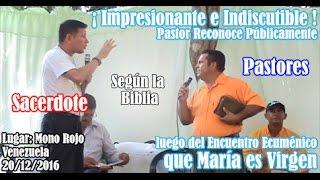 Download parte 4 INDISCUTIBLE Pastor Reconoce que María es Virgen luego de encuentro con Sacerdote Católico Video