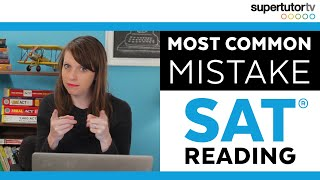 Download Most Common Mistake - SAT Reading: Tricks, Tips, and Strategies for a perfect score! Video