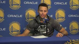 Download Curry relives tunnel run celebration, reflects on Klay's 60 point night Video