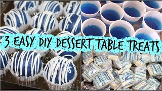 Download 3 Easy DIY Dessert Table Treats Video