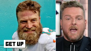 Download Pat McAfee reacts to the Dolphins' first win: 'You can't outstink the Jets!' -   Get Up Video