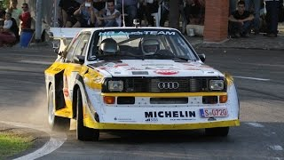 Download Rally Legend 2014 - Group B: Audi S1, Delta S4, 205 T16, etc Video