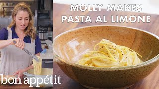 Download Molly Makes Pasta al Limone | From the Test Kitchen | Bon Appétit Video
