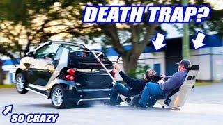 Download We Bought A Smart Car...Turned It Into A 2+2 Wheelie MONSTER The NEXT DAY! Video