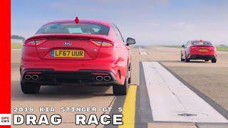 Download 2018 Kia Stinger GT S Drag Racing Video