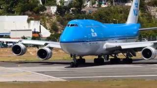 Download Last ever 747 takeoff from St Maarten Video