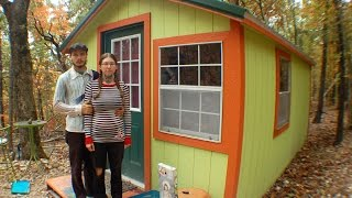 Download Our Ozark Tiny House $3,000 - 150 sqft & No PLUMBING Video