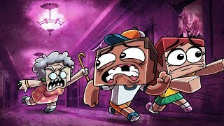 Download Minecraft | PSYCHO GRANDMA HATES EVERYTHING! (Stupid Place) Video
