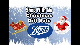 Download Christmas Gift Sets - BOOTS - Shop with me - filmed 29th Sept 2018 Video