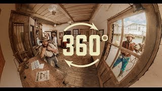 Download Experience Ghost Town Alive! In 360° At Knott's Berry Farm Video