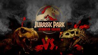 Download Jurassic Park Operation Genesis - Batalla Indominus Vs Rex Vs Spino 1 Video