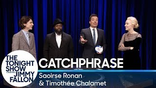 Download Catchphrase with Saoirse Ronan and Timothée Chalamet Video