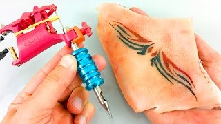 Download ✔ Watch This Tattoo Machine, Practice Before Tattoo In Human Skin Video
