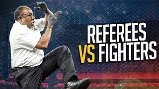 Download Referees vs Fighters in MMA & Boxing Video