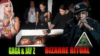 Download Must SEE! Lady Gaga & Jay Z Caught in Bizarre Satanic Ritual Video