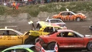 Download Gander Demolition Derby - Small Car Heat Video