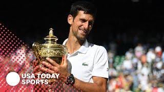 Download Novak Djokovic, Angelique Kerber are Wimbledon champions Video