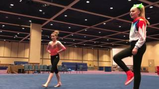Download JoJo Siwa doing gymnastics Video