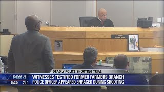 Download Witnesses describe telling ex-police officer to stop shooting burglary suspects Video