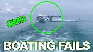 Download Funny Boat Fails to get you through your week. Video
