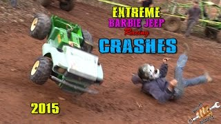 Download EXTREME BARBIE JEEP RACING 2015 CRASHES Video