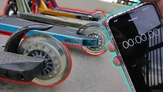 Download WHEEL DESTROY CHALLENGE AT SKATEPARK! Video