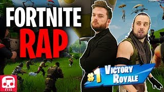 Download FORTNITE RAP by JT Music (feat. Fabvl & Divide) - ″Never Give Up″ Video