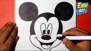 Download how to draw mickey mouse disney - como dibujar a mickey mouse Video