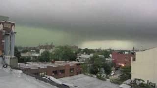 Download Brooklyn Tornado/ Micro Burst - Best Footage of Storm!! September 16, 2010 Video