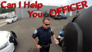 Download Super Cool Cop Chills With Bikers Video